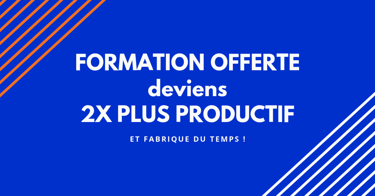 formation offerte devenir productif